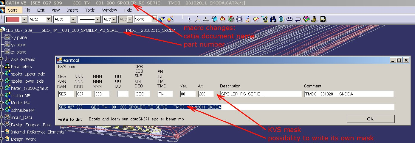 how to use an exe macro